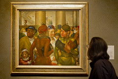 Bargain Hunters (not!) (1crzqbn) Tags: sliderssunday portlandartmuseum kennethhayesmiller bargainhunters art 1crzqbn