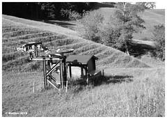 Schafmatt-0001ba (r_walther) Tags: grossformat monochrom schwarzweiss sinar testplanfilmkssetten 100asa fomapan100 rodinal1508minrotation schafmatt skilift talstation oltingen kantonsolothurn schweiz