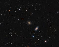 Galaxies in Draco (Photonen-Sammler) Tags: draco galaxies triplet group deep sky stars space astrophotography astronomy long exposure