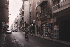 Athens, Greece (pas le matin) Tags: travel city world cityscape ville capital man homme cycle bicycle greece grèce athènes athens street candid rue avenue building bâtiment architecture canon 5d canon5d canon5dmkiii canoneos5dmkiii eos5dmkiii eos5d