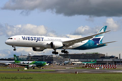 C-GURP | WestJet | Boeing 787-9 Dreamliner | EIDW | 02-06-2019 (carlowspotter) Tags: aircraft airplane aviation boeing 787 7879 789 b787 b789 dreamliner westjet jet plane cgurp canada dublin airport ireland air avgeek new route inaugural