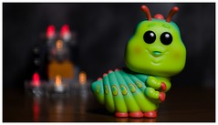 Caterpillar (DayBreak.Images) Tags: tabletop toy funkopop caterpillar miniature lights canoneosm mirrorless meyeroptic 50mm trioplan ringlight photoscape border home