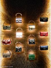 Luxury is Fantasy - Designer Purses (Lyubov Love) Tags: luxury expensive design designer fashion louboutin dior prada paris france