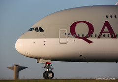 Airbus A380-800 Qatar Airways (Moments de Capture) Tags: airbus a380800 380 a380 qatarairways aircraft plane avion aeroport airport spotting lfpg cdg roissy charlesdegaulle onclejohn canon 5d mark3 5d3 mk3 momentsdecapture