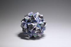 Masha Athanasiadi. Alchemy Star Kusudama (kastudio) Tags: masha athanasiadi alchemy star kusudama origami paper art