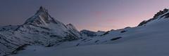 After glow - Matterhorn (Captures.ch) Tags: wolken clouds clear klar sunset sonnenuntergang evening dusk abenddämmerung abend frühling spring zermatt valais matterhorn wallis swiss switzerland valley tal sky mountains landschaft landscape hügel himmel hill gletscher glacier alpen alps capture aufnahme
