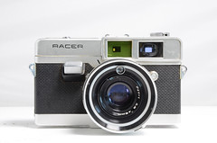 Petri Racer (camera_holic) Tags: petri racer 35mm rangefinder camera japan japanese 1960s collection portrait vintage retro old 45mm 28 lens photographica purchase