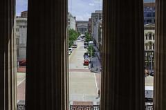 View from the National Portrait Gallery
