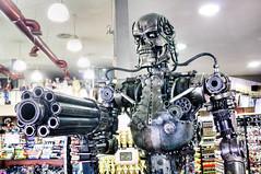 Terminator Endoskeleton (Kevin Borland) Tags: california hollywood store usa robot losangelescounty