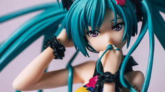 Hatsune Miku-Tell your World Ver. はつねみく てる ゆあ わーるど Ver. (GuiltyKnights) Tags: red はつねみく てる ゆあ わーるど ver hatsune miku tell your world vocaloid figure photography photoshoot toy toystagram goodsmilecompany goodsmile 18 figurine a7s sony 85mm 28mm macro anime girl collection cute