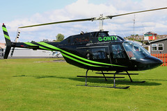 G-ONTV (GH@BHD) Tags: gontv bell agustabell bell206b jetranger newtownardsairfield newtownards ulsterflyingclub helicopter chopper rotor aircraft aviation