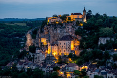 Rocamadour twilight (Donard850) Tags: france rocamadour twilight evening floodlights