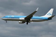 PH-BCB Heathrow 24 May 2019 (ACW367) Tags: phbcb boeing 737800 klmroyaldutchairlines heathrow