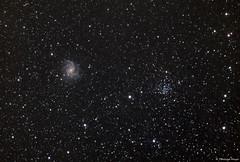 Fireworksgalaxy and NGX6939 (testdummy76) Tags: astro astronomy astronomie astrophotography astrofotografie astrofoto astrogeeks astrogeek astrophoto astrofotography astrogotografie dso dsophotography mgc6939 ngc6946 fireworks galaxy galaxie nebel deepsky deepskyphotography