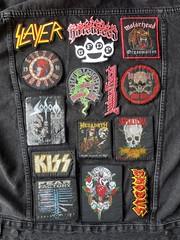 Day 153 (Iain Purdie) Tags: battlejacket denim heavymetal patch patches happy 2019