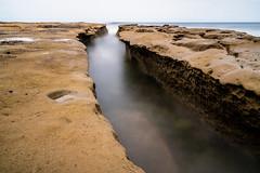 Tide Pool Crack La Jolla, CA (Chad Cooksey) Tags: longexposure california sonyalpha sony a7riii zeiss