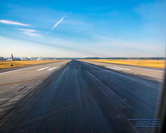 A SeaTac Runway Stained With Burnt Rubber (AvgeekJoe) Tags: iflyalaska d5300 dslr internationalairport ksea nikon nikond5300 seatac seatacinternational seatacinternationalairport seattle seattletacomainternational seattletacomainternationalairport washington washingtonstate airport