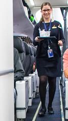 The Flight Attendant (AvgeekJoe) Tags: iflyalaska 737990 737990erwl alaskaair alaskaairlines boeing737 boeing737900 boeing737990 boeing737990erwl d5300 dslr jetliners nikon nikond5300 other aircraft airplane aviation jetliner plane