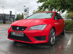 SEAT Leon Cupra 290 (Marc Sayce New 1) Tags: snows portsmouth approved used seat leon cupra 290 emocion red 2016 2017 2018 2015 2014 280 300 vw volkswagen golf gti r audi a3 s3 rs3 tsi tfsi