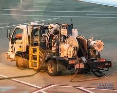 A Fuel Truck at Portland International Airport (AvgeekJoe) Tags: iflyalaska d5300 dslr nikon nikond5300 pdx portlandinternationalairport airport fueltruck