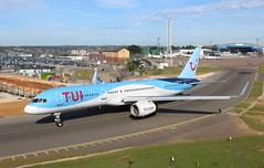G-BYAW Boeing 757-204 TUI Airways (R.K.C. Photography) Tags: gbyaw boeing 757204 b757 tui aircraft aviation airliner luton bedfordshire england unitedkingdom uk londonlutonairport ltn eggw canoneos100d