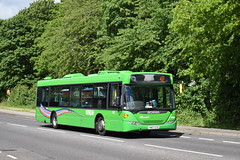 Nottingham City Transport 301 (Ash Hammond) Tags: nottinghamcitytransport scaniacn230ub omnicity 518 301 yn07eyd