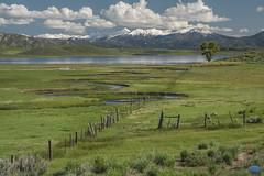 Prairie dog valley 2019 (TheArtOfPhotographyByLouisRuth) Tags: prairiedog landscape valley idaho water grass snow mountains thebestshots