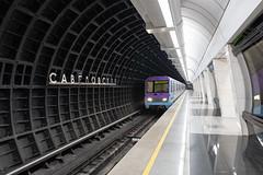 Arrival (gubanov77) Tags: subway metro underground station train savelovskaya metropoliten moscowmetro architecture moscow russia transport