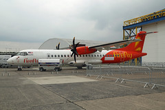 2-MFID ATR72-600 Firefly Bydgoszcz 17th May 2019 (michael_hibbins) Tags: 2mfid atr72600 firefly bydgoszcz 17th may 2019 2 guernsey channel islands atr malaysia malaysian stored transfer poland polish eastern european air fete fair aeroplane aerospace aircraft aviation airplane aero airfields airshow airport airports aeroexpo airliner civil commercial passanger passenger turbo prop props