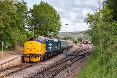 """""""Deja Vu"""" (MSRail Photography) Tags: class37 37 colas largelogo passenger ecs"""