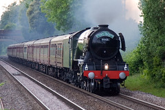 60103 - Flying Scotsman (Signal Box - Railway photography) Tags: railway railroad ukrailway mainline steam engine locomotive steamtrain outdoor whitchurch hampshire flyingscotsman 60103 steamdreams
