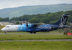 ES-ATA Nordica (Gerry Hill) Tags: glasgow air airport gerry hill scotland d90 d80 d70 d7200 d5600 bridge nikon aircraft aeroplane international airline gla egpf airplane transport esata nordica atr72212a atr 72 212 212a atr72