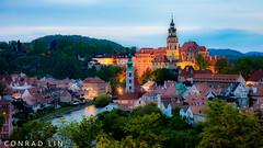 Cesky Krumlov, Czechia (ililin1224) Tags: ceskykrumlov czechia czechrepublic nigh castle travel sony a7 ilce7 fe2870mmf3556