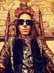 Lord Josh Allen - Gold Suit (LordJoshAllenLAMAT) Tags: lordjoshallen lord josh lordjosh magick occult philosophy occultism spirituality occultist taoist magician fashion clothing clothes mens formal attire classy class gold sunglasses glasses blazer suit jacket coat shoes style longhair mensfashion mensclothes shirt tie selfie cravat