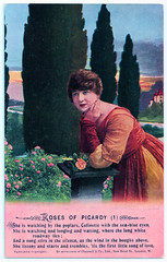 Roses of Picardy - 1 (pepandtim) Tags: postcard old early nostalgia nostalgic roses picardy songs series bamforth holmfirth new york printed great britain frederick weatherly haydyn wood chappell first world war danny boy london bus 1926 22rse28