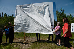 DDBGS Unveiling-byBobSteventon-6663 (Bubba55) Tags: botanicalgarden ddbgs daviddouglas sign unbc unveiling princegeorge bc canada