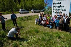 DDBGS Unveiling-byBobSteventon-6717 (Bubba55) Tags: botanicalgarden ddbgs daviddouglas sign unbc unveiling princegeorge bc canada