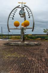 Rusty Clock (Bracus Triticum) Tags: rusty clock 1028 kōchiprefecture 高知県 shikoku 四国 日本 japan bicycletriparoundshikoku 4月 四月 卯月 shigatsu uzuki unohanamonth 2019 平成31年 spring april