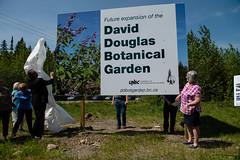 DDBGS Unveiling-byBobSteventon-6677 (Bubba55) Tags: botanicalgarden ddbgs daviddouglas sign unbc unveiling princegeorge bc canada