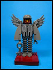Hervey Boidguy, a Turn Key at Large (Karf Oohlu) Tags: lego moc figure brickbuiltfigure birdface key winged