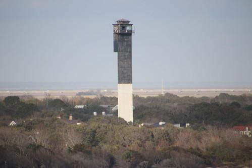 Charleston Lighthouse (Sullivan's Island Lighthouse, South Carolina) - From the Royal Caribbean Grandeur of the Seas -  February 16th, 2019