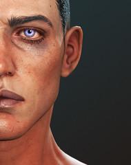 Work in progress (Bluoxyde) Tags: art portrait face boys wip
