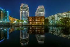 ABION Villa,Berlin,Altmoabit (karstenlützen) Tags: germany berlin altmoabit holsteinerufer longexposure abionvilla mirrored waterfront riverside