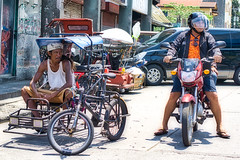 Eyes Left (Beegee49) Tags: street people waiting tricycle pedicab sony a6000 bacolod city philippines asia