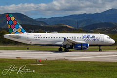 N648JB JetBlue Airways Airbus A320-232 (Hector A Rivera Valentin) Tags: n648jb jetblue airways airbus a320232 named hastalavista 092018 painted jetbluevacations special colours tjps pse mercedita international