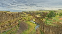 Palouse Canyon 5064 A (jim.choate59) Tags: jchoate on1pics canyon river palouseriver palousecanyon washingtonstate cliffs scenic cloudy landscape whitmancounty clouds overcast