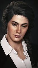 Kassandra of Sparta (ilikedetectives) Tags: kassandra suits blacksuit portrait assassinscreed assassinscreedodyssey acodyssey gaming gamecaptures game ingamephotography videogames virtualphotography womeninsuits ubisoft ubisoftquebec screenshot