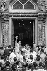 Proy Than in Naga Ordination Ceremony at Wat Benchamabophit, Bangkok (aey.somsawat) Tags: architecture bangkok buddhism buddhisttemple lifestyle marbletemple mono monochrome naga ordination people peopleofbangkok proythan temple thaiarchitecture thailand themarbletemple wat watbenchamabophit