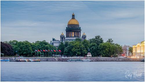 Postcard Greetings From St Petersburg