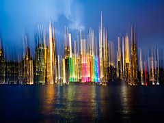 colorCity (m_laRs_k) Tags: nikonevent illumination cityscape newyork reflection olyblues oly optic2019 nyc optics event bhopticsevent manhattan olympus ibised ibis prime 17mm omd rain night colors southstreetseaport 纽约 ньюйо́рк usa brooklyn icm intentionalcamerashake panning vertical lights mlarsk